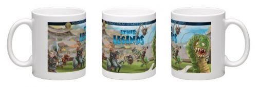 Ether Legends Coffee Mug -WrapAround White
