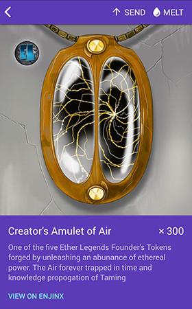 Creator's Amulet of Air