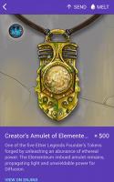 Creator's Amulet of Elementeum